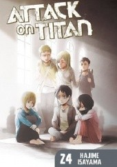 Okładka książki Attack on Titan #24 Isayama Hajime
