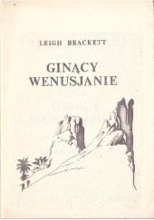 Okładka książki Znikający Wenusjanie Leigh Brackett