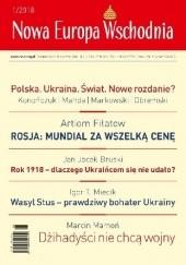 Okładka książki Nowa Europa Wschodnia 1/2018