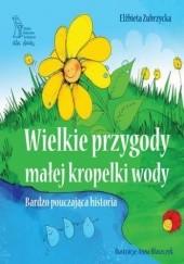 Okładka książki Wielkie przygody małej kropelki wody. Historia bardzo pouczająca Elżbieta Zubrzycka