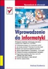 Okładka książki Wprowadzenie do informatyki Andrzej Kisielewicz