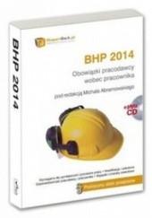 Okładka książki BHP 2014. Obowiązki pracodawcy wobec pracownika