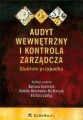 Okładka książki Audyt wewnętrzny i kontrola zarządcza