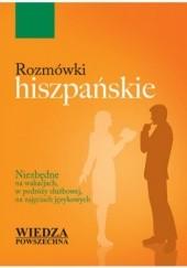 Okładka książki Rozmówki hiszpańskie Wiedza Powszechna Długosz Cezary