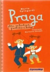 Okładka książki Praga dla młodych podróżników. Przewodnik Express Map Marta Spingardi
