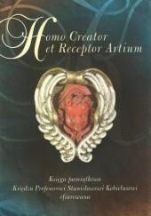Okładka książki Homo Creator et Receptor Artium Małgorzata Wrześniak