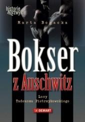 Okładka książki Bokser z Auschwitz Marta Bogacka