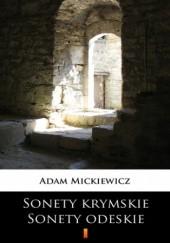 Okładka książki Sonety krymskie. Sonety odeskie Adam Mickiewicz