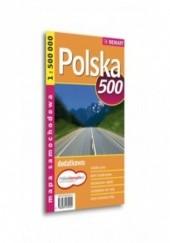 Okładka książki Polska. Mapa samochodowa Demart / 1:500 000
