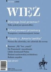 Okładka książki Więź 4/2016 praca zbiorowa