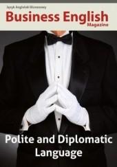 Okładka książki Polite and Dyplomatic Language Daria Frączek