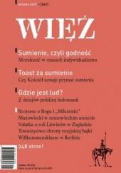 Okładka książki Więź 1/2017 praca zbiorowa