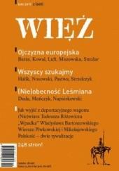 Okładka książki Więź 2/2017 praca zbiorowa