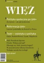 Okładka książki Więź 3/2017 praca zbiorowa