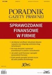Okładka książki Sprawozdanie finansowe w firmie Pl Infor