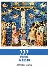 Okładka książki 777 spojrzeń w niebo Stefan Radziszewski ks.