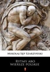 Okładka książki Rytmy abo wiersze polskie Mikołaj Sęp Szarzyński