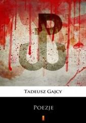 Okładka książki Poezje. Wybór Tadeusz Gajcy