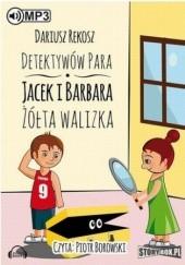 Okładka książki Detektywów para - Jacek i Barbara. Żółta walizka Dariusz Rekosz