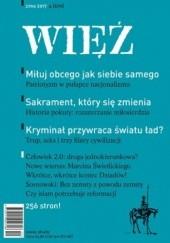 Okładka książki Więź 4/2017 praca zbiorowa