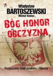 Okładka książki Bóg, honor, obczyzna Władysław Bartoszewski,Michał Komar