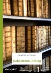 Okładka książki Dekameron, Prolog Giovanni Boccaccio
