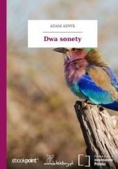 Okładka książki Dwa sonety Adam Asnyk