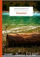 Okładka książki Nemunui Adam Mickiewicz