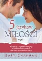 Okładka książki 5 języków miłości. Tajemnica miłości, która będzie trwała całe życie Gary Chapman