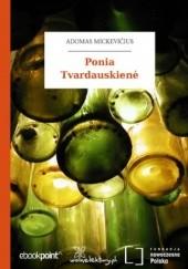 Okładka książki Ponia Tvardauskien Adam Mickiewicz