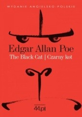 Okładka książki The Black Cat. Czarny Kot Edgar Allan Poe