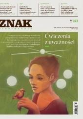 Okładka książki Znak nr 753 Adam Wiedemann,Angelika Kuźniak,Barbara Klicka,Redakcja miesięcznika Znak