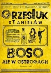 Okładka książki Boso, ale w ostrogach Stanisław Grzesiuk