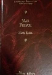 Okładka książki Homo Faber. Relacja Max Frisch