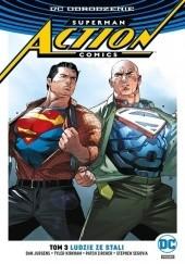Okładka książki Superman - Action Comics: Ludzie ze stali Dan Jurgens,Tyler Kirkham,Stephen Segovia