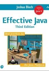 Okładka książki Effective Java Third Edition Joshua Bloch