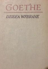 Okładka książki Goethe Dzieła wybrane, IV tomy Johann Wolfgang von Goethe