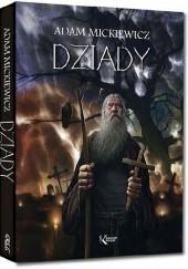 Okładka książki Dziady Adam Mickiewicz