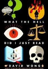 Okładka książki What the Hell Did I Just Read David Wong
