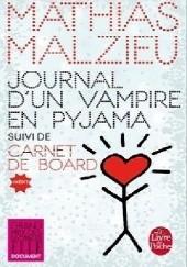 Okładka książki Journal dun vampire en pyjama Mathias Malzieu