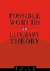 Okładka książki Possible Worlds in Literary Theory Ruth Ronen
