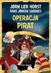 Okładka książki Operacja Pirat Jørn Lier Horst,Hans Jørgen Sandnes