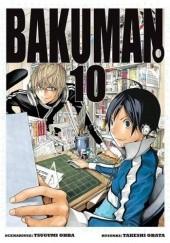 Okładka książki Bakuman #10 Tsugumi Ohba,Takeshi Obata