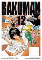 Okładka książki Bakuman #12 Tsugumi Ohba,Takeshi Obata