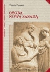 Okładka książki Osoba nową zasadą Vittorio Possenti