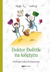 Okładka książki Doktor Dolittle na księżycu Hugh Lofting