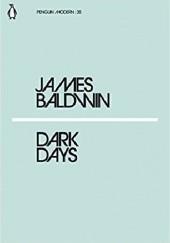 Okładka książki Dark days James Baldwin