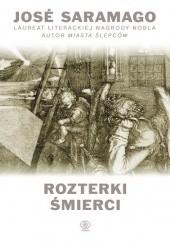 Okładka książki Rozterki śmierci José Saramago