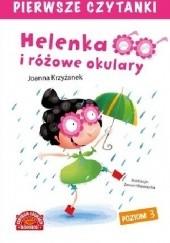 Okładka książki Helenka i różowe okulary Joanna Krzyżanek