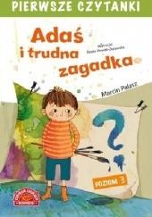 Okładka książki Adaś i trudna zagadka Marcin Pałasz